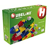 Hubelino 420145 - Kugelbahn - Starter Baukasten - ab 4 Jahre (100% kompatibel mit Duplo) - 85 Teile