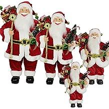 LD Navidad Decorar 1pc 60 cm Papá Noel, Navidad Papá Noel Santa Clause Figura grande