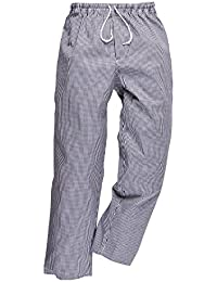Portwest C079 - Pantalones Chef 'Bromley', color, talla Medium