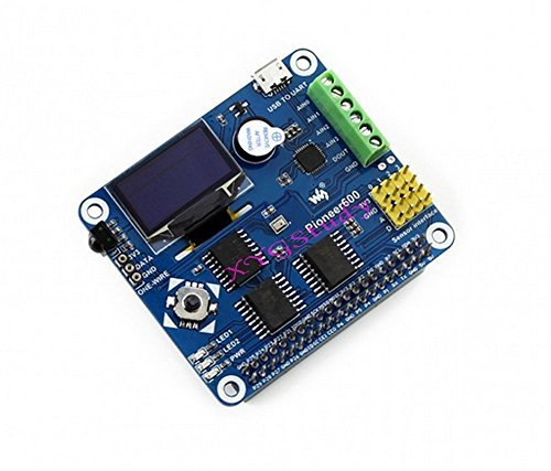 pioneer600Expansion Board für Raspberry Pi 123mit USB zu UART I/O OLED-Display RTC AD/DA GPIO IR Sensor DS18B20Komponenten @ XYG -