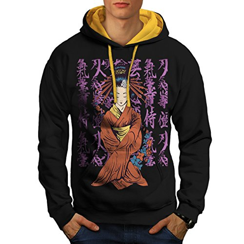 beautiful-east-woman-japan-art-men-new-black-gold-hood-m-contrast-hoodie-wellcoda