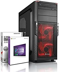 Ultra 8-Kern DirectX 12 Gaming-PC Computer FX 8320E 8x4.00 GHz Turbo - GeForce GTX1050Ti 4GB DDR5-16GB DDR3 1600-1TB HDD - Windows10 Prof - DVD±RW #5276