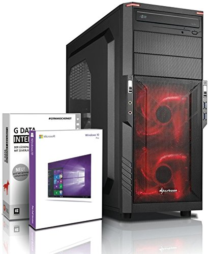 Ultra 8-Kern DirectX 12 Gaming-PC Computer FX 8320E 8x4.00 GHz Turbo - GeForce GTX1050Ti 4GB DDR5 - 256GB SSD - 16GB DDR3 1600 - 1TB HDD - Windows10 Prof - DVD±RW #5516