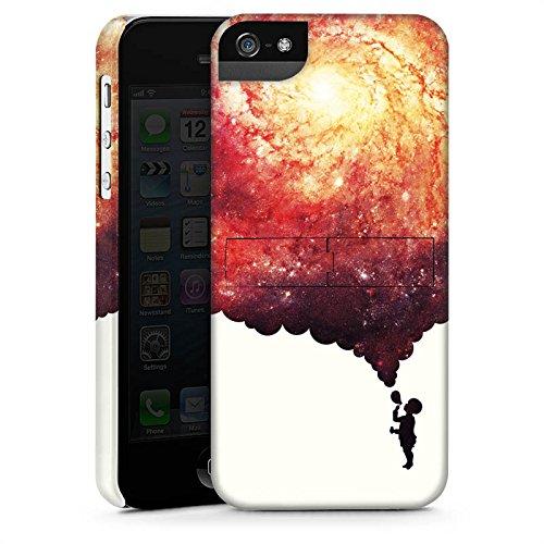 Apple iPhone X Silikon Hülle Case Schutzhülle Universum Seifenblasen Kind Premium Case StandUp