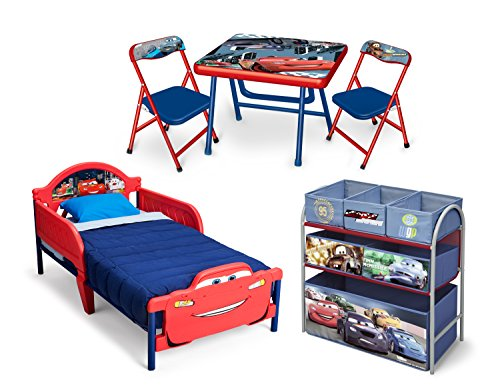 Cars 3-teiliges Kleinkind Zimmerset (Blau)