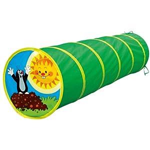 Bino 13748 - Túnel Infantil diseño con Topos Color Verde