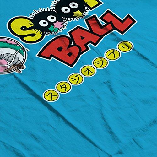 Studio Ghibli Soot Ball Dragon Ball Z Mix Women's Hooded Sweatshirt Sapphire
