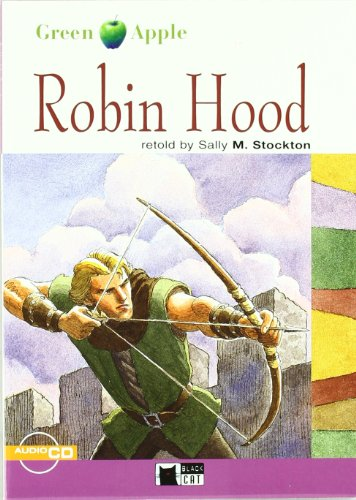 Robin Hood+cd N/e (exit) (Black Cat. Green Apple) por Cideb Editrice S.R.L.
