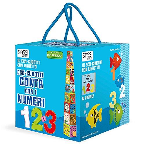 Conta con i numeri. Eco-cubotti. Ediz. a colori. Con libretto