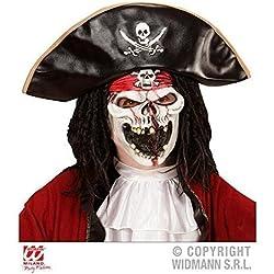 Máscara de pirata del barco fantasma.