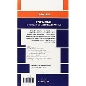Diccionario Esencial. Lengua Española (Larousse - Lengua Española - Diccionarios Generales)