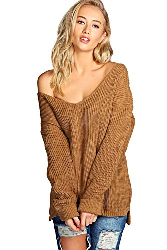 amberclothing-pull-tunique-femme-marron-camel