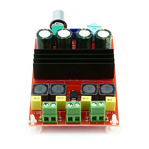 Swiftswan Digital Power Audio Verstärkerplatine, 2 * 100 Watt Bluetooth Digital Endstufe Board Dual Channel Digital Audio Verstärkerplatine Modul Super Bass Ampl