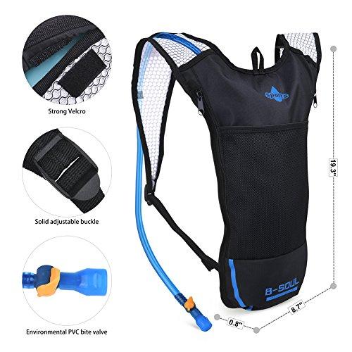 Imagen de vbiger  de hidratacion para trail running / bicicleta / ciclismo negro, 2l  alternativa