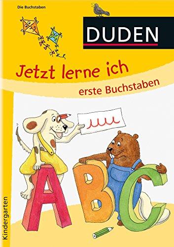 Jetzt lerne ich erste Buchstaben (ab 4): Kindergarten
