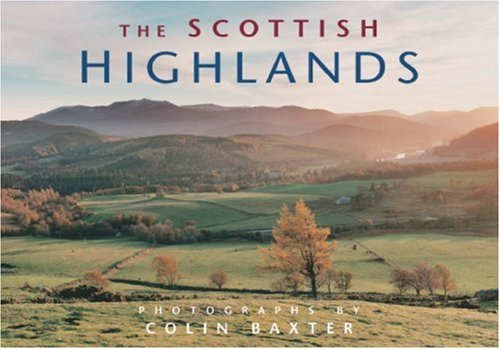 The Scottish Highlands (Mini Portfolio) (Map) by Colin Baxter (2008-04-07)