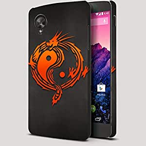 Theskinmantra Shaolin Dragon Nexus 5 Full Body Case