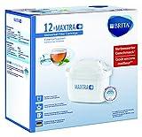 Brita MAXTRA+ Pack de 12 Filtros para el Agua, Cartuchos Filtrantes, Compatibles con Jarras Brita que Reducen la Cal y el Cloro