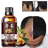 Allbesta Anti-Haarausfall 7 Tage Hair Essential Oil Ingwer Hairdressing Hairs Mask Dry and Damaged Hairs Nutrition Haarpflege