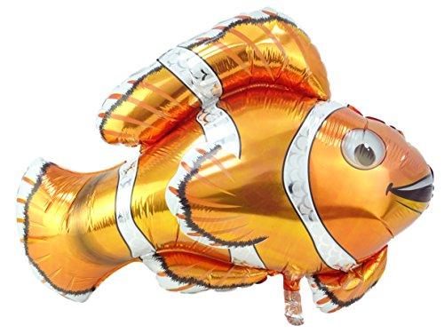 (GRABO 24-Zoll-glänzender Clown-Fisch-Folien-Ballon)