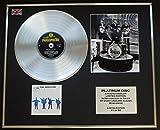 THE BEATLES/Platin Schallplatte & Foto-Darstellung/Limitierte Edition/