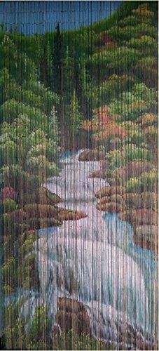 Mountain Stream Bambus Bead Vorhang