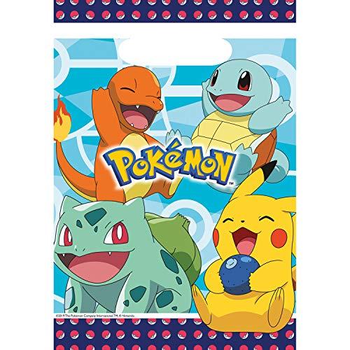 8 Partytüten * Pokemon * für Mitgebsel zum Kindergeburtstag und Mottoparty   Geschenktüten Mitgebseltüten
