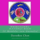 Weihnachts-Mandala Buch: 20 Mandalas zum Ausmalen!