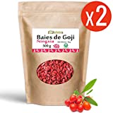 Baies de Goji Greenfood origine Ningxia (Lycium Barbarum) 500 gr x 2