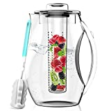 Best Tea Pitcher - InstaCuppa Fruit Infuser Water Pitcher and Cold Brew Review