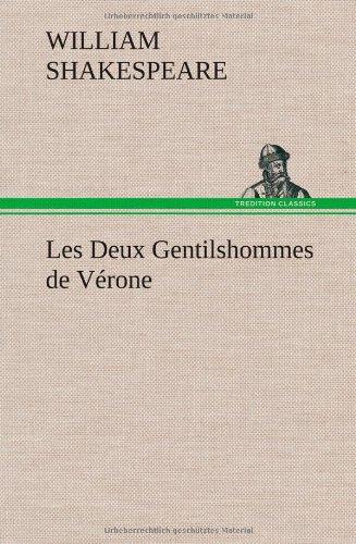 Les Deux Gentilshommes De Verone [Pdf/ePub] eBook