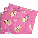 Baby Station Premium Quality Multi Purpose Changeable Mat, Set Of 3 (Pink Hello Kitty Print)