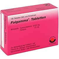 Folgamma Tabletten 100 stk preisvergleich bei billige-tabletten.eu