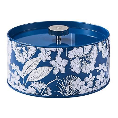LA Jolie Muse Bougie Parfumée Cadeau 400g Aromathérapie Grande Bougie D'étain 3-Mèche Cire Naturelle, Coton Croustilla