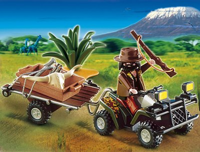 PLAYMOBIL® 4834 - Wilderer-Quadgespann