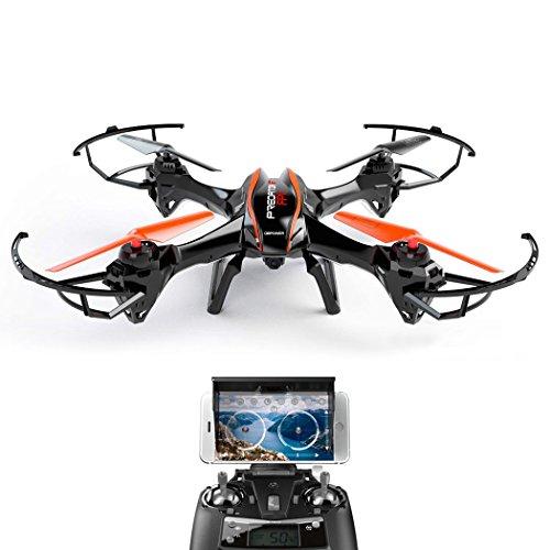 DBPOWER U842 Predator Mega-Drohne mit Kamera HD 2MP DBPOWER WiFi Echtzeit Quadrocopter mit Niederspannungs -Warnung Schwerkraftinduktion und Kopflos Modus Drone