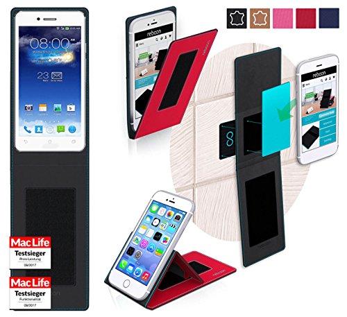 reboon Hülle für Asus PadFone Infinity 2 Tasche Cover Case Bumper | Rot | Testsieger