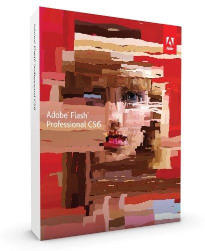 Adobe Flash Professional CS6 Upgrade von CS3, CS4, CS5 englisch MAC (Adobe Flash Professional Cs6)