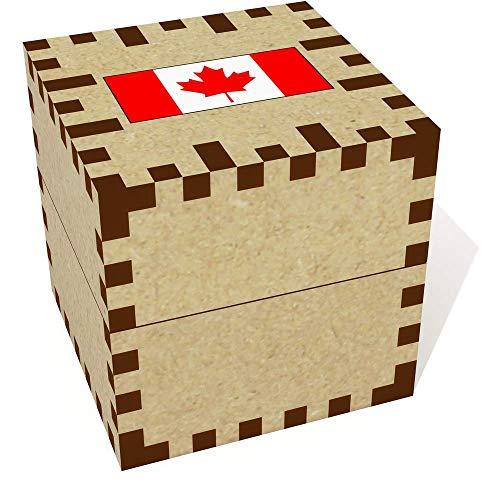 Azeeda Klein (39mm) 'Kanadische Flagge' Ringschachtel / Schmuckkästchen (JB00056146) -