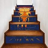 Autocollants d'escaliers Habillage De Noël Autocollant Escalier Sticker Décoratif...