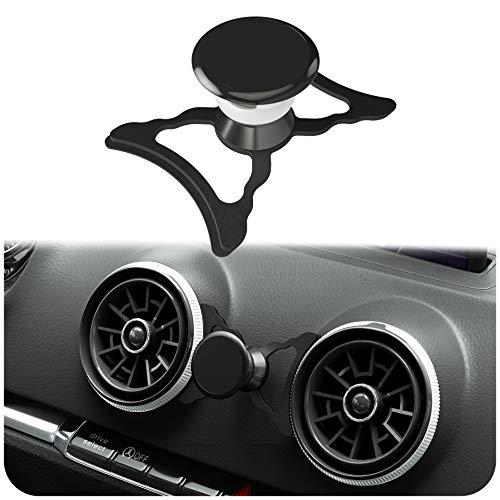 innoGadgets magnetische Handyhalterung kompatibel mit Audi A3/S3/RS3 | Universelle Halterung für Smartphone, GPS & Tablet | 360 verstellbar für optimale Sicht | Schwarz
