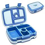 Bentgo Kids  Kinder Lunchbox / Bento Box / Brotdose mit 5 Unterteilungen, auslaufsicher (Blau)