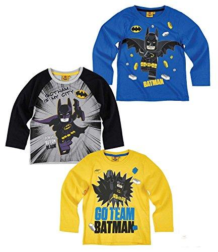 Lego-Batman-Kinder-Jungen-Langarmshirt-Gr104-140-Pullover-Shirt-langarm-neu