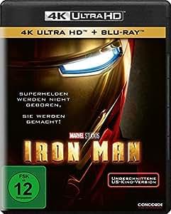 Iron Man (4K Ultra HD) (+ Blu-ray)