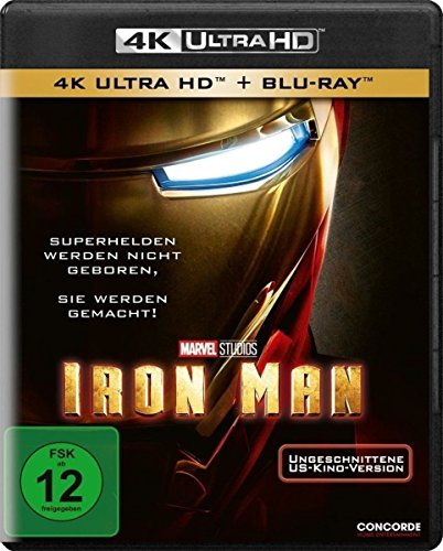 Iron Man - Ultra HD Blu-ray [4k + Blu-ray Disc]