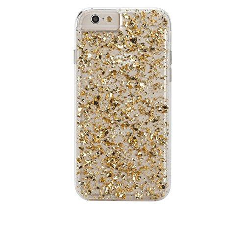 Case-Mate CM031453 Karat Schutzhülle für Apple iPhone 6/6S klar/Gold Case-mate Skins