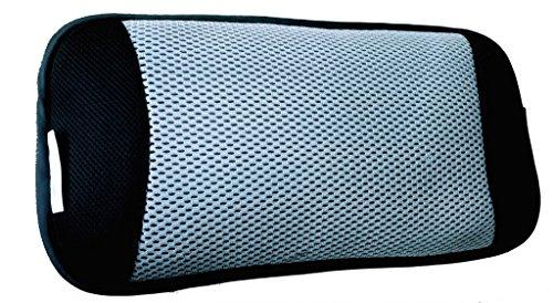 Airospring Lordosekissen, atmungsaktives 3D-Gewebe, Lendenkissen für zuhause, den Bürostuhl und als Rückenkissen im Auto