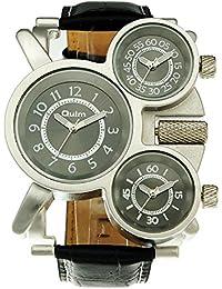 ada7bffa108d GL Militar de cuarzo de pulsera reloj acero correa de metal Durevole Sub  Masculino Multi Cuadrantes