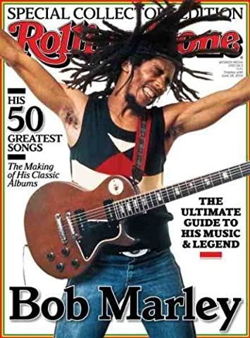 ROLLING STONE MAGAZINE ~ COLLECTORS EDITION - BOB MARLEY - HIS MUSIC AND LEGEND
