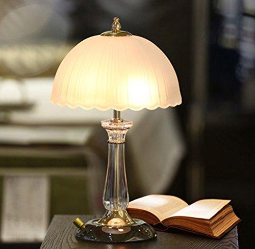 Lamp LU de Table Moderne de Chevet de Chambre Simple de Bureau européenne